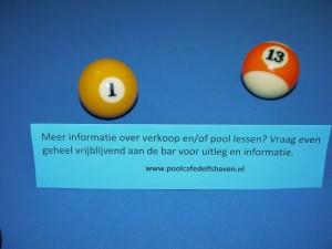 Informatie aan de bar in Delfshaven