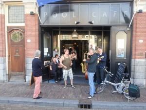 juli 2013 Jazz in Rotterdam bij Poolcafé Delfshaven