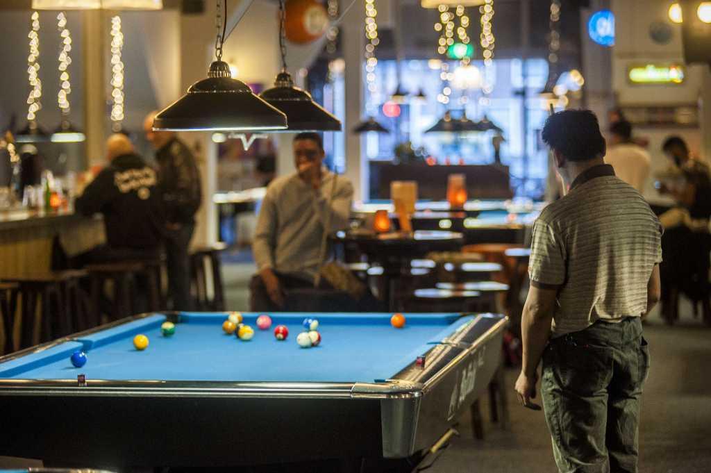 Pool spel